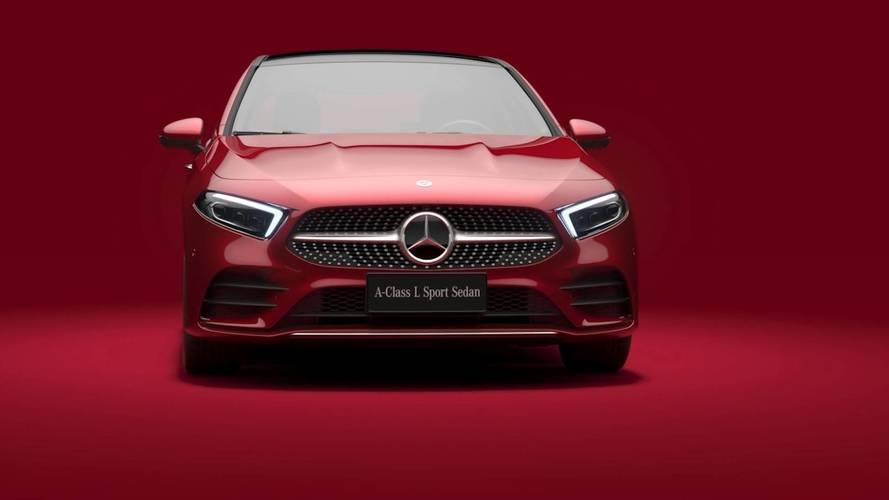 Mercedes A-Class Sedan Long Wheelbase (Chinese market)