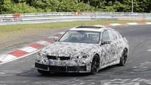 Yeni BMW M3 Sedan'ın Nürburgring'teki Casus Fotoğrafları