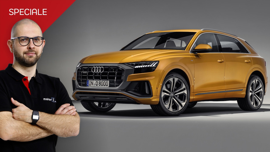 Audi Q8, la sportiva per chi la vuole alta da terra