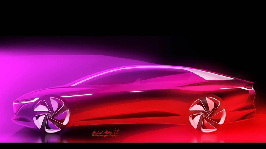 VW I.D. Vizzion Teaser Makes Us Think Of An Electric Phaeton