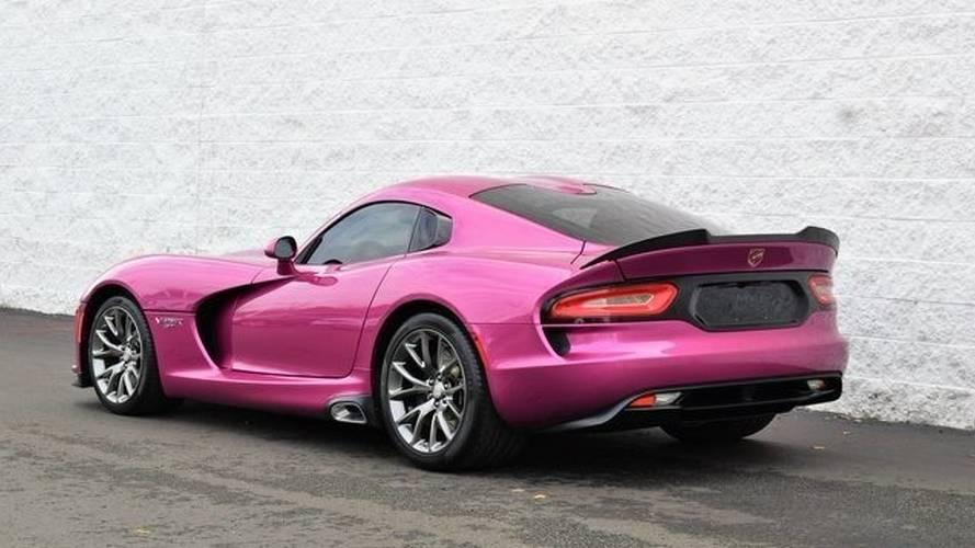 2017 Dodge Viper Metallic Pink