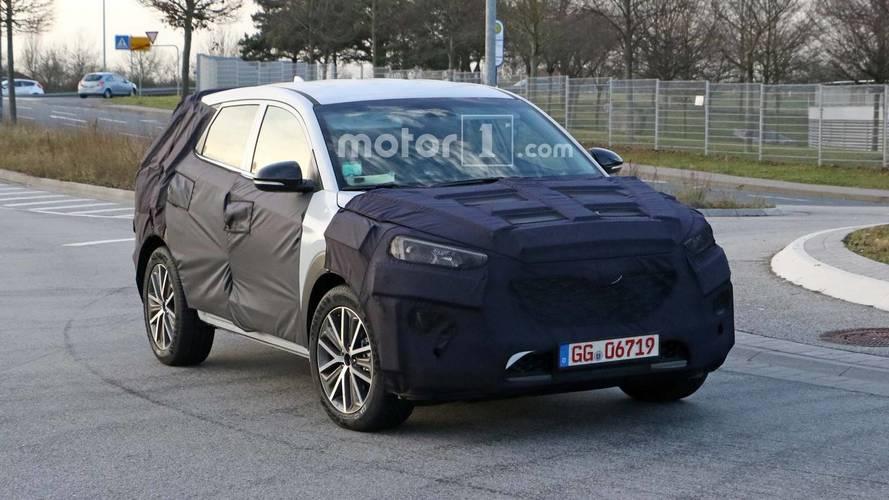 Flagra - Hyundai New Tucson reestilizado estreia no segundo semestre