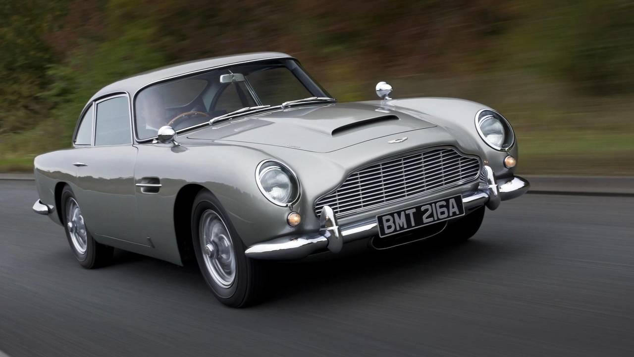 Aston Martin DB5: Dünyanın En Ünlü Otomobillerinden Birisi