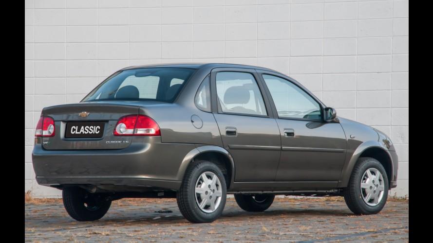 GM volta atrás e mantém produção do Classic em SJC até o fim do ano