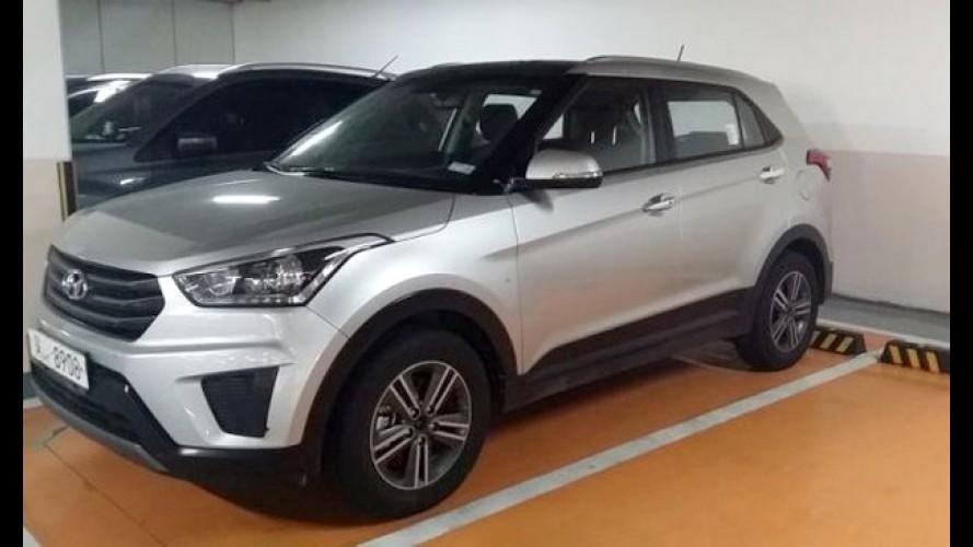 Versão de produção do Hyundai ix25 é flagrada na Coreia do Sul