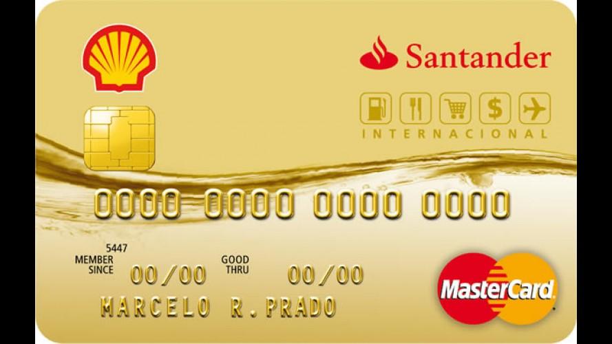 Aparador Retro Vintage Amarelo ~ Cart u00e3o de Crédito Shell Santander dá desconto em combustível, produtos e serviços