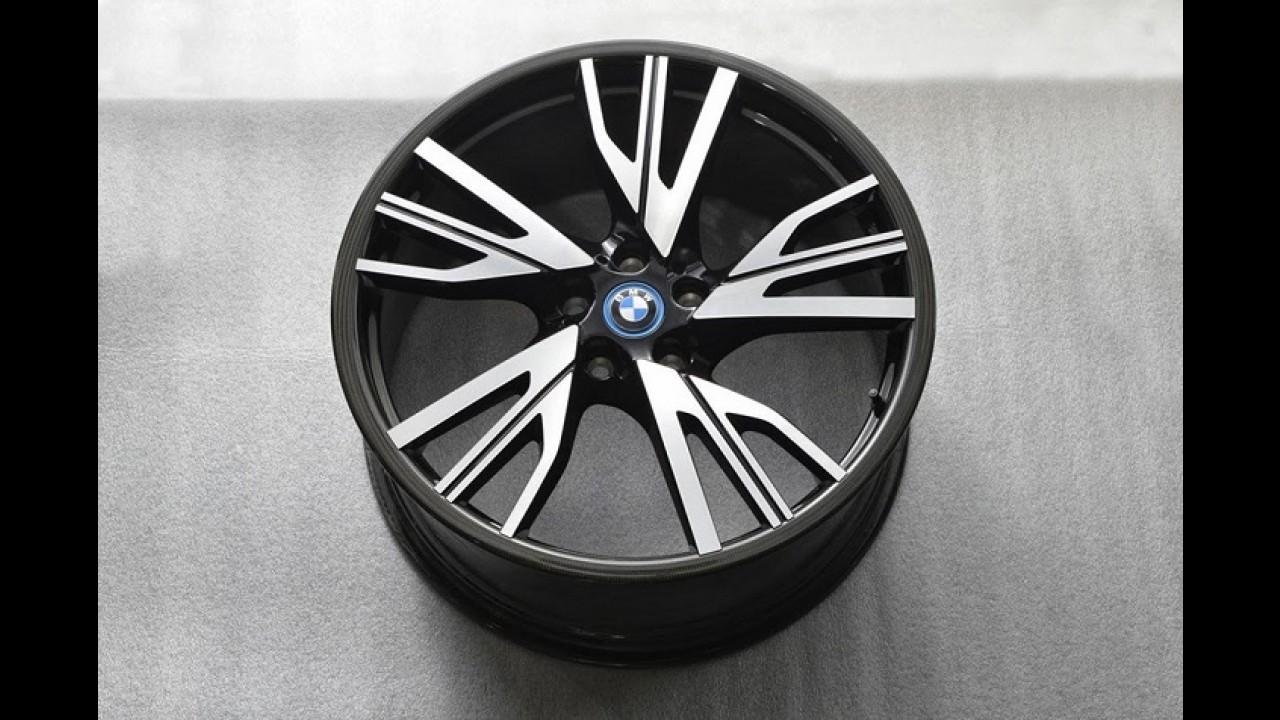 BMW planeja fabricar rodas de fibra de carbono até 2016