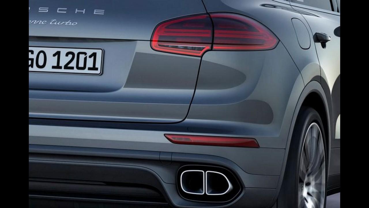 Porsche Cayenne 2015 estreia visual atualizado e novas opções de motorização