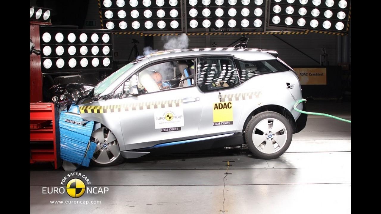 EuroNCAP: 308, Q50 e Outlander levam cinco estrelas; EcoSport e BMW i3 ficam com quatro