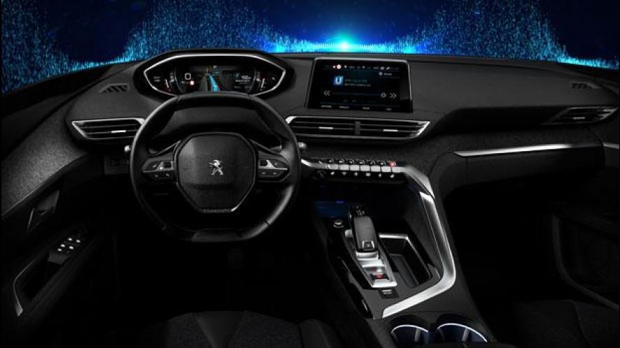 """Nuovo Peugeot i-Cockpit, chi guida """"suona"""" la tastiera [VIDEO]"""