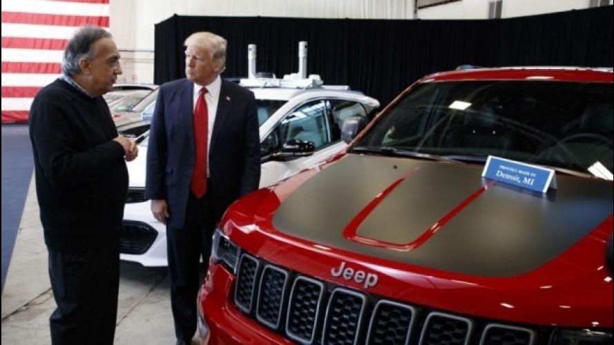 Emissioni, Trump rivede i limiti negli USA. Marchionne approva