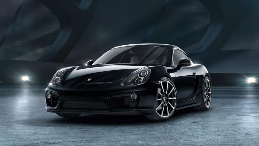 Porsche Cayman Black Edition, bella