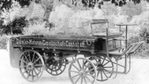 The first motorized Daimler truck with rear engine