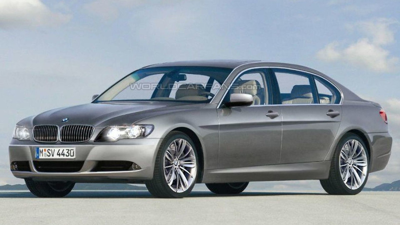BMW New 7-Series artist rendering