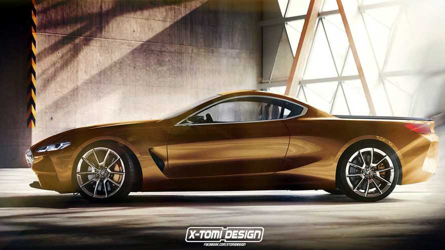 BMW Serie 8 Pick-Up render