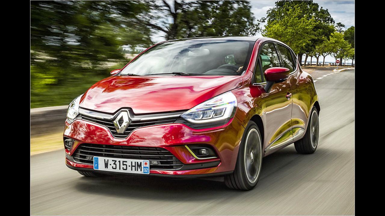 Für moderate Designfans: Renault Clio