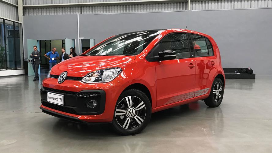 Novo VW up! 2018 atualiza estilo e ganha refinamento interno
