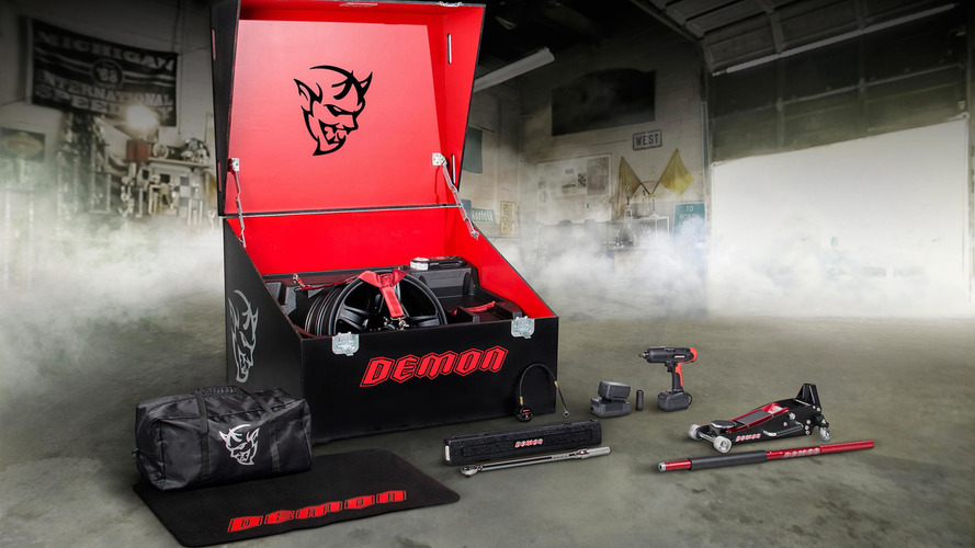 Dodge SRT Demon packs a special ECU for race gas