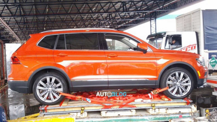 Flagra - Novo VW Tiguan chega para a estreia no Salão de Buenos Aires