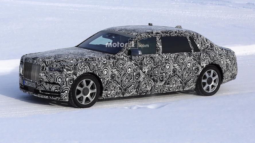 2018 Rolls-Royce Phantom Extended Wheelbase spied with less camo