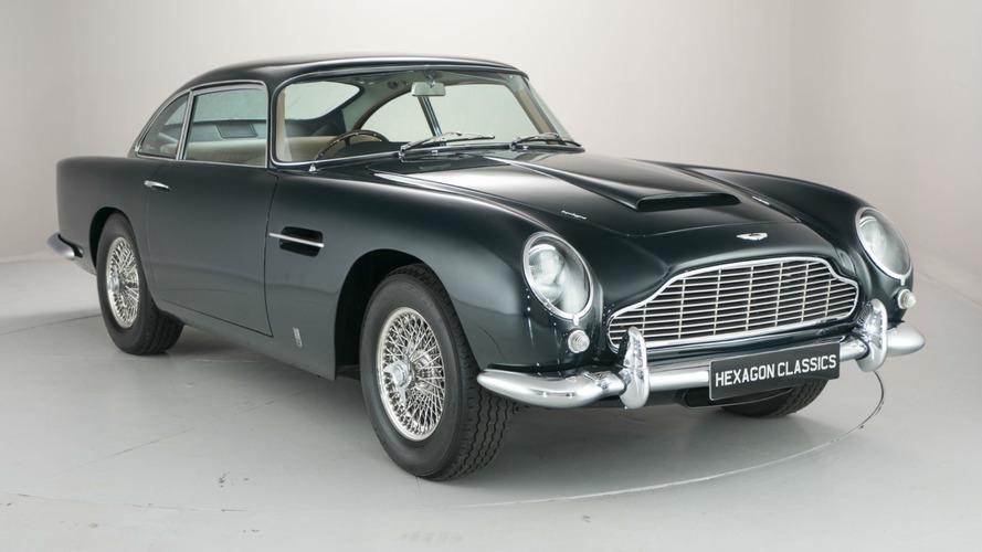 Pers Prensi'ne ait Aston Martin DB5 muazzam bir rakama satışta