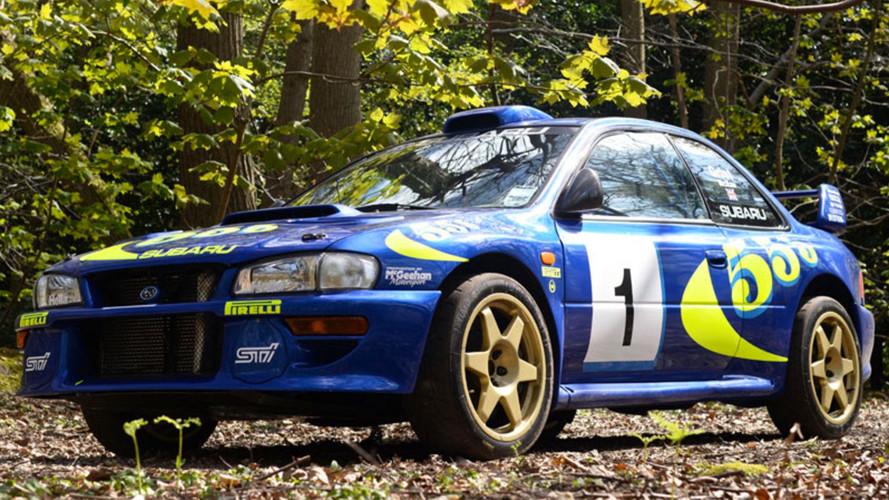 Colin McRae's Subaru Impreza WRC Test Car Sells For $400K