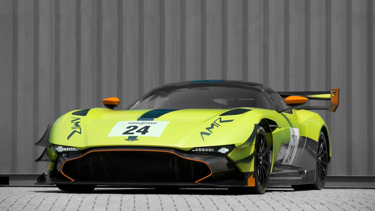 Aston Martin Vulcan gets AMR upgrades