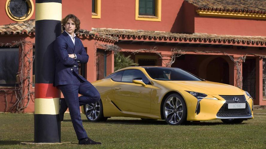Roberto Merhi, nuevo embajador de Lexus