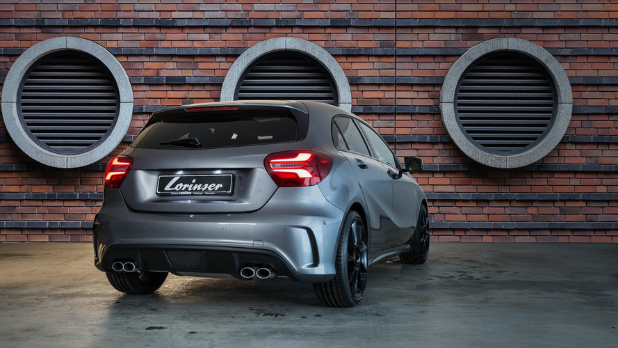 Lorinser spices up Mercedes A-Class facelift