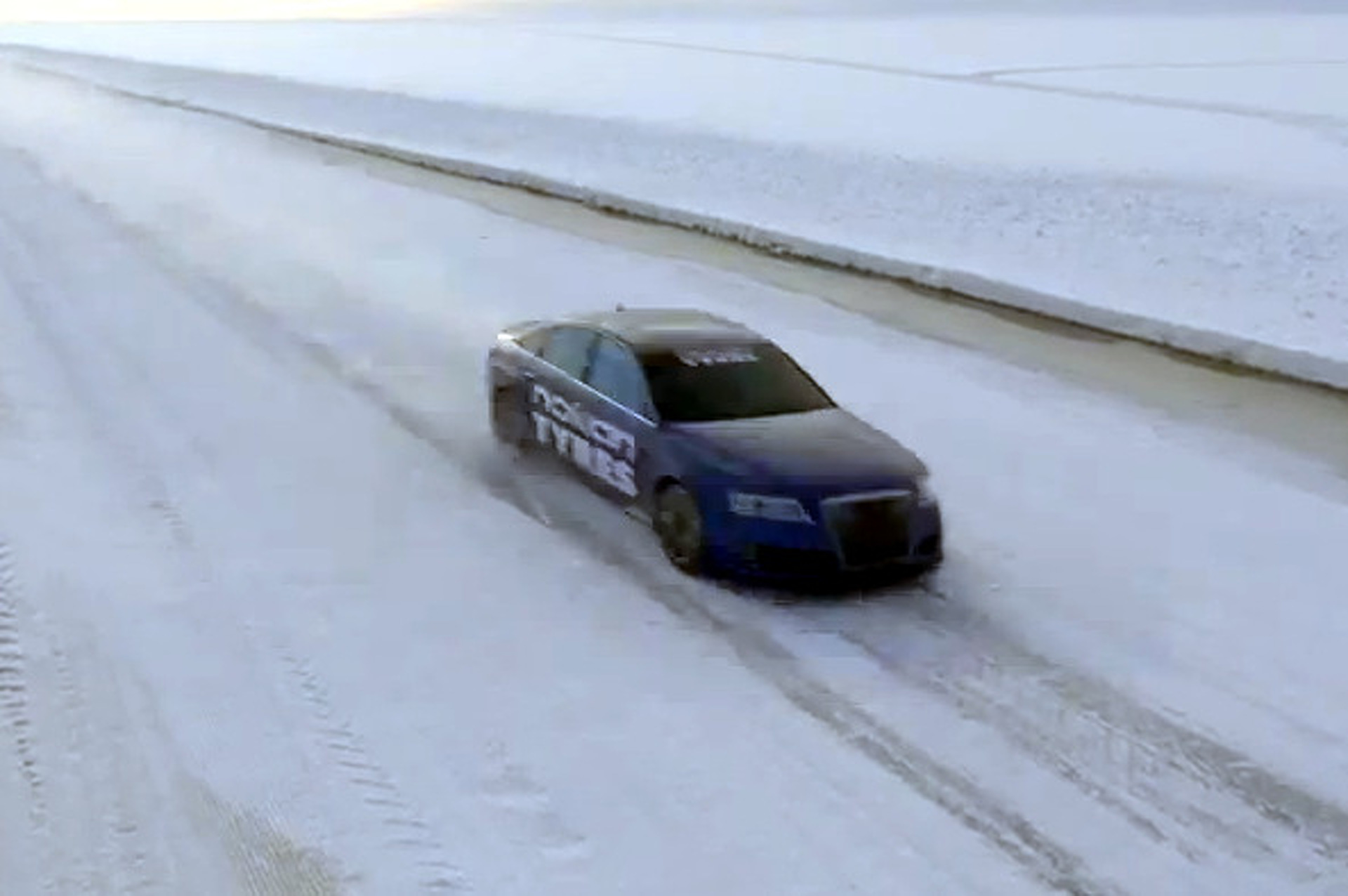 Video: Just How Fast Can You Drive on Ice?