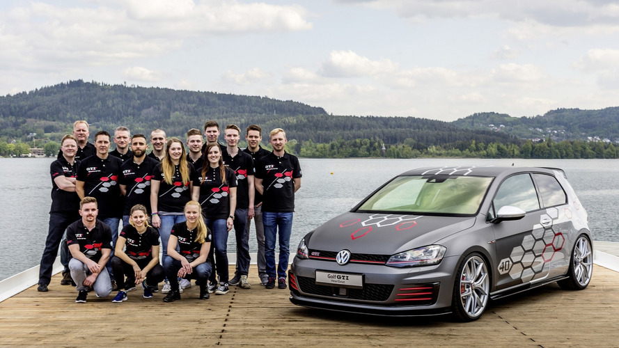 Apprentice-built VW Golf GTI Heartbeat has 400 hp