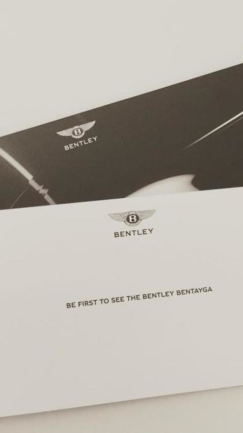 Bentley Bentayga private reveal today in Germany, full debut set for IAA in September