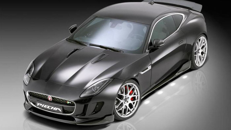 Jaguar F-Type R Coupe receives makeover from Piecha Design