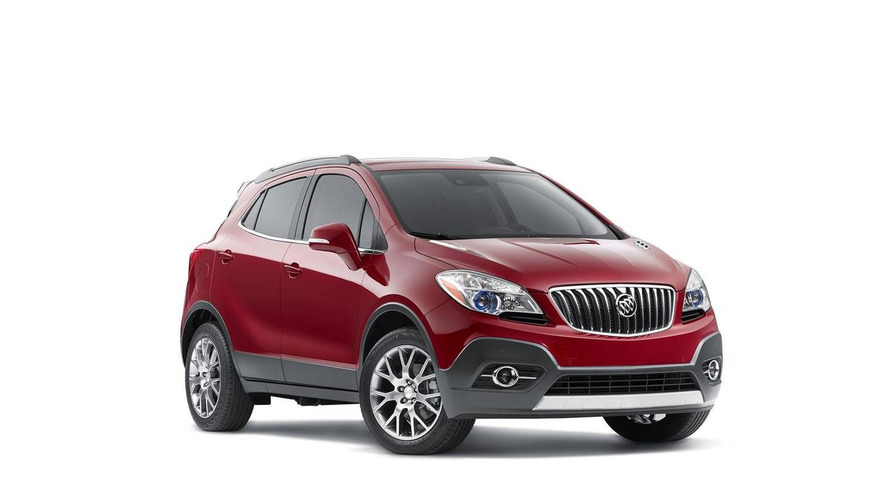 2016 Buick Encore Sport Touring launched with cosmetic tweaks and new 153 bhp 1.4-liter turbo