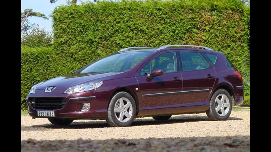 Peugeot 407 SW: Ein Kombi mit Aussicht