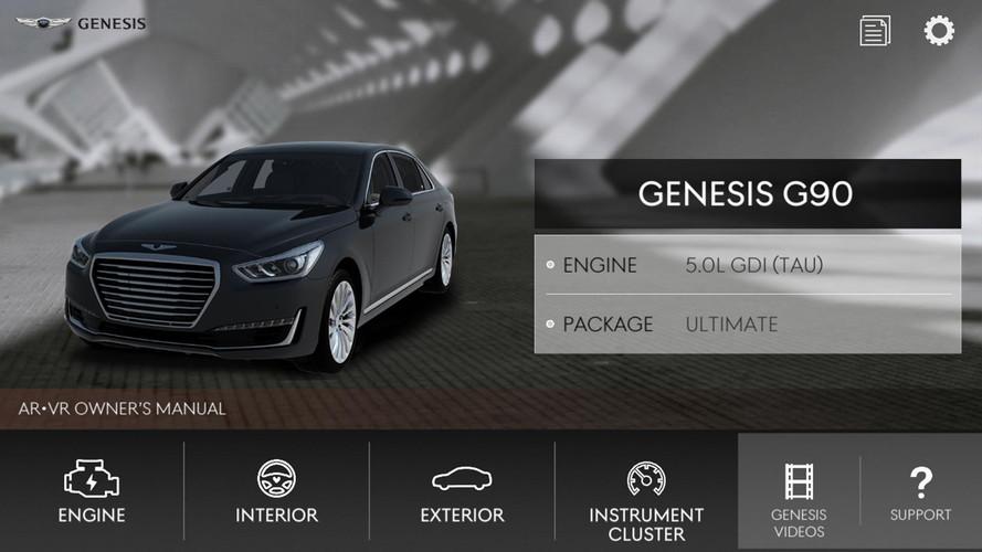 Genesis Augmented Reality App
