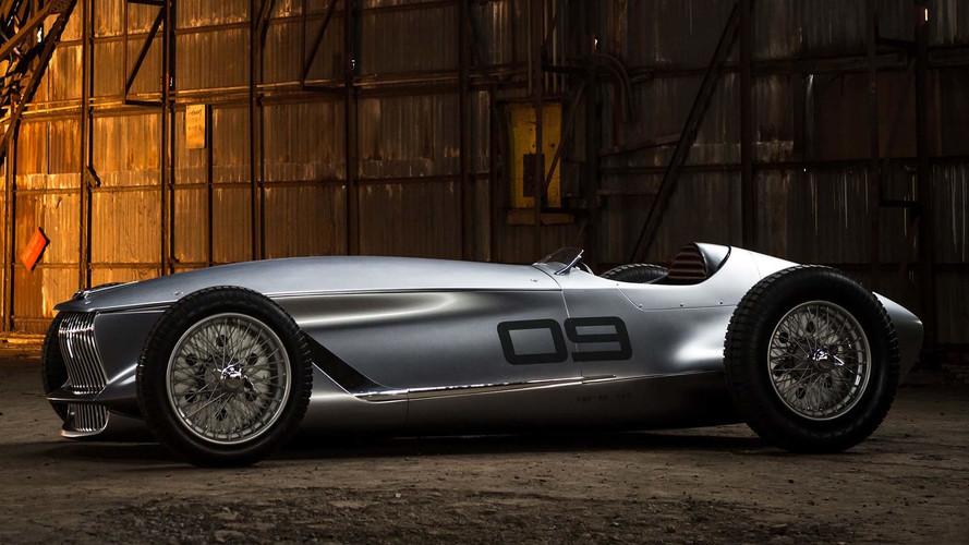 Infiniti'nin retro yarış aracı Prototype 9 tarih kokuyor