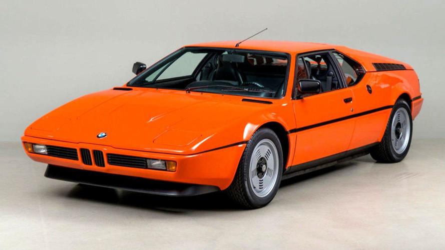Cette rare BMW M1 orange est à vendre