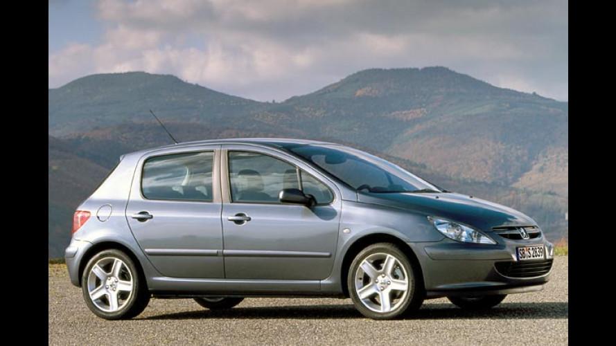 Peugeot 307: Jetzt mit serienmäßiger Klimaanlage