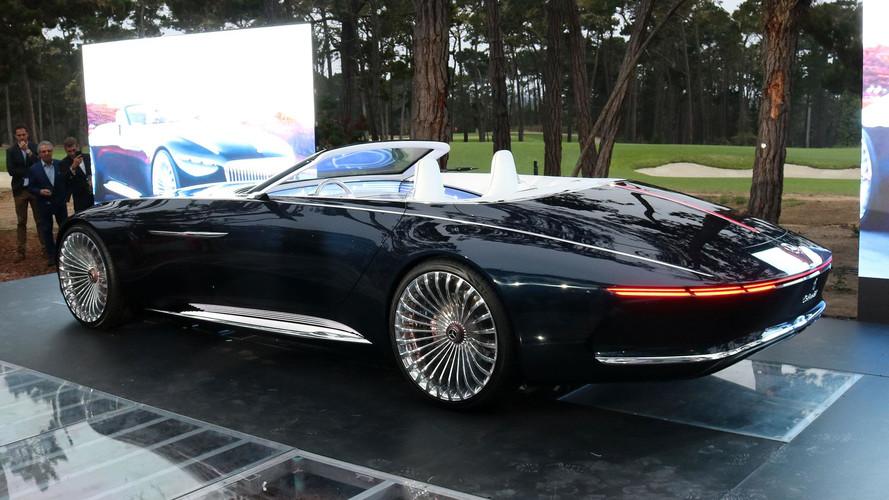 Mercedes mostra conceito conversível e elétrico em Pebble Beach