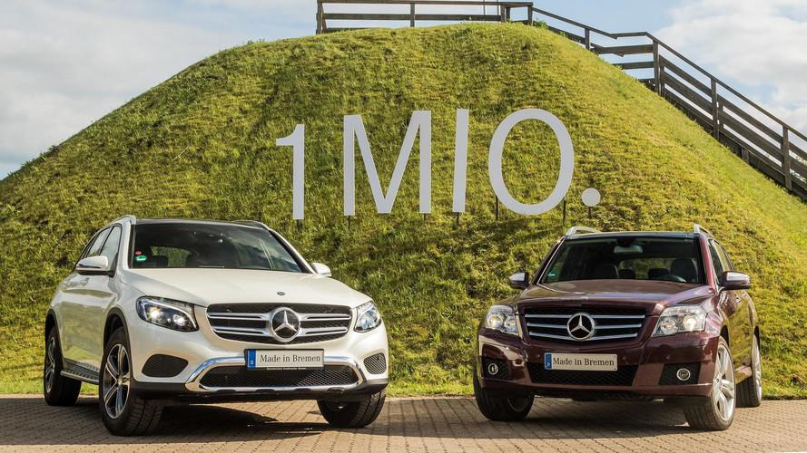 Los Mercedes GLK y GLC alcanzan el millón de unidades vendidas