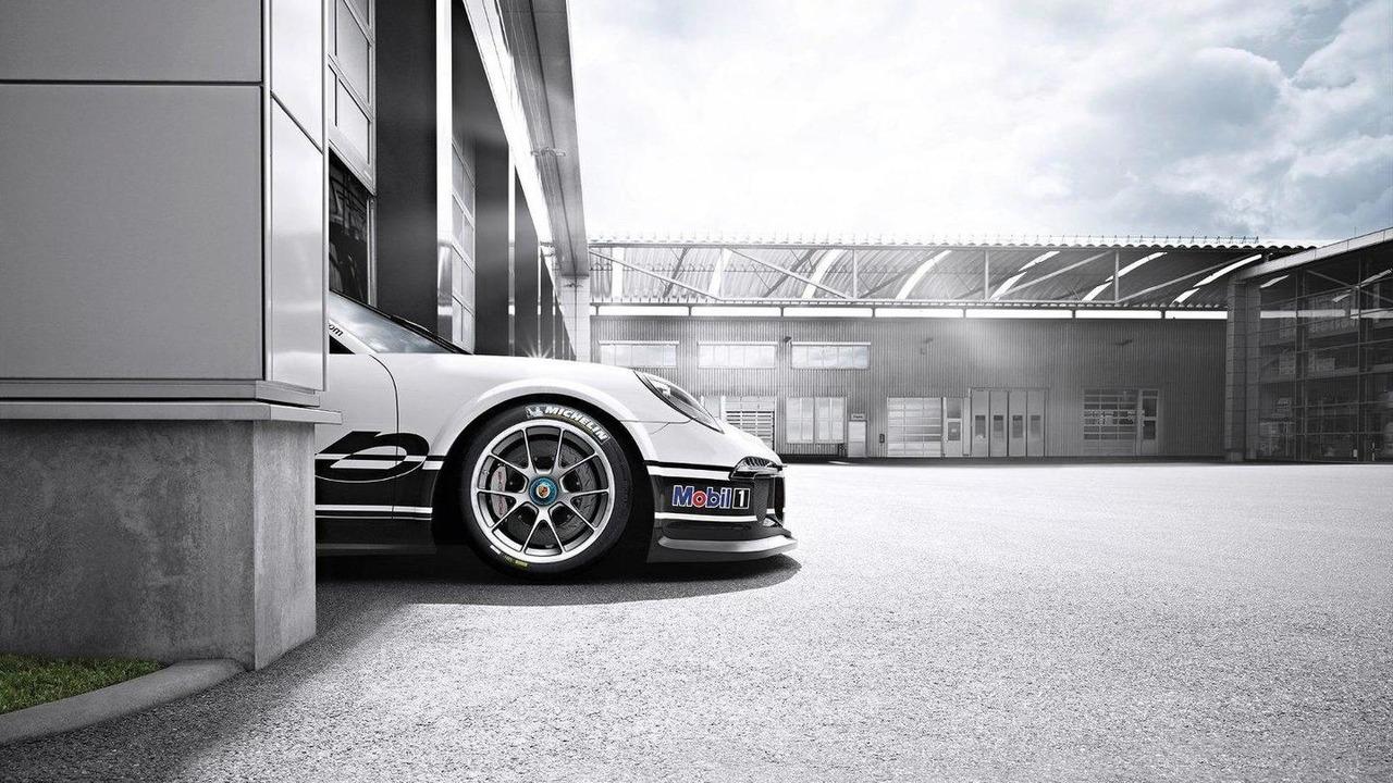 2013 Porsche 911 GT3 Cup teaser 07.12.2012