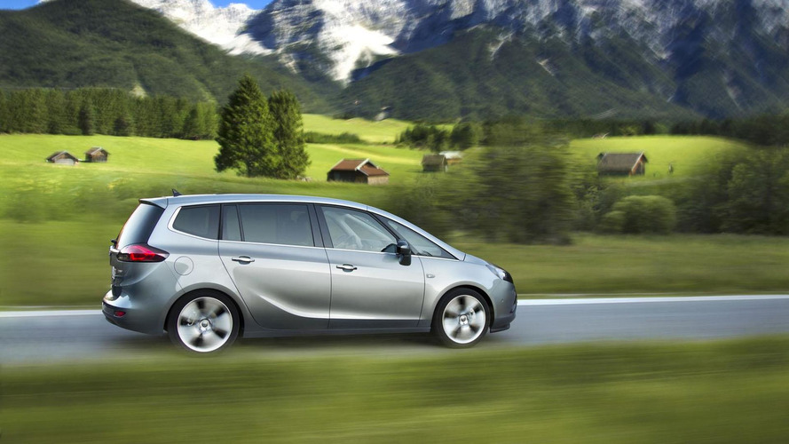 Opel Zafira Tourer 1.6 CDTI bound for Geneva, features next-gen diesel engine
