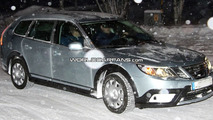 Saab 9-3X spy photos