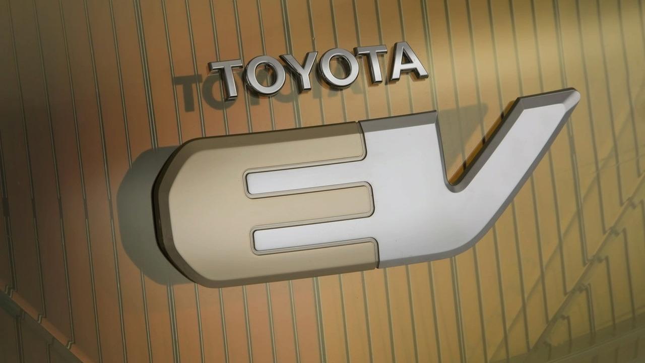 Toyota EV Concept Logo