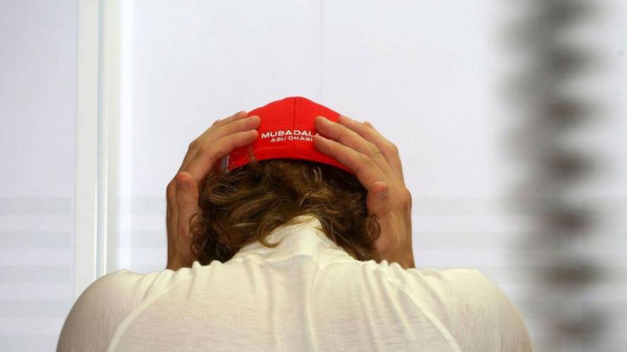 Raikkonen frustrated by halted Ferrari development