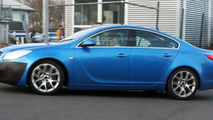 Opel Insignia OPC spy photo at Nurburgring