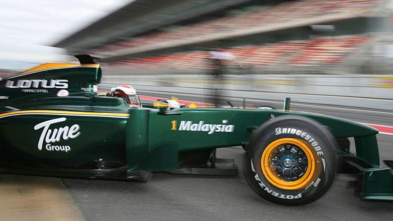 Jarno Trulli (ITA), Lotus F1 Team - Formula 1 Testing, 27.02.2010, Barcelona, Spain