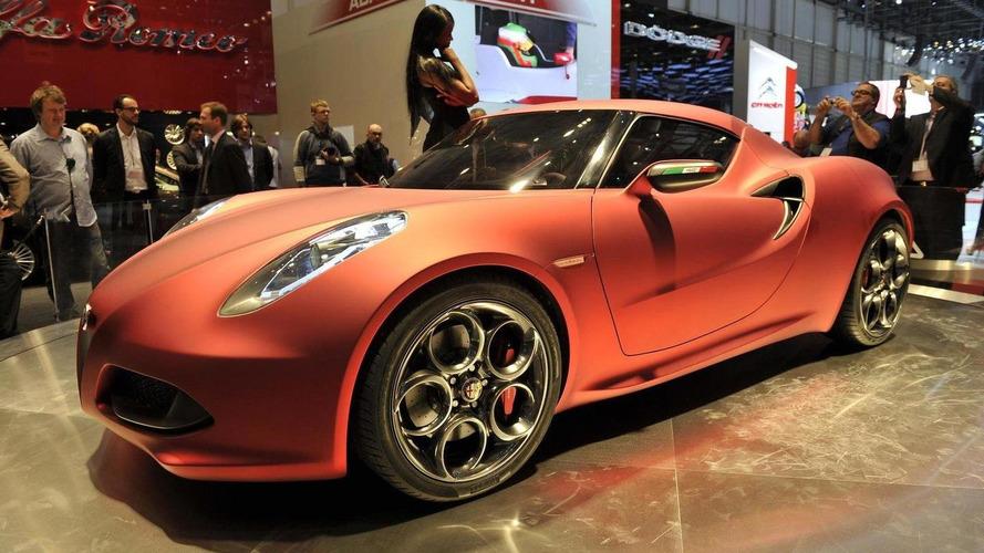 Alfa Romeo 4C Concept world premiere in Geneva