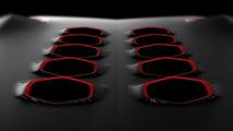 Mystery Lamborghini teaser 2 for 2010 Paris Motor Show, 15.09.2010